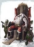 Bad ass Santa