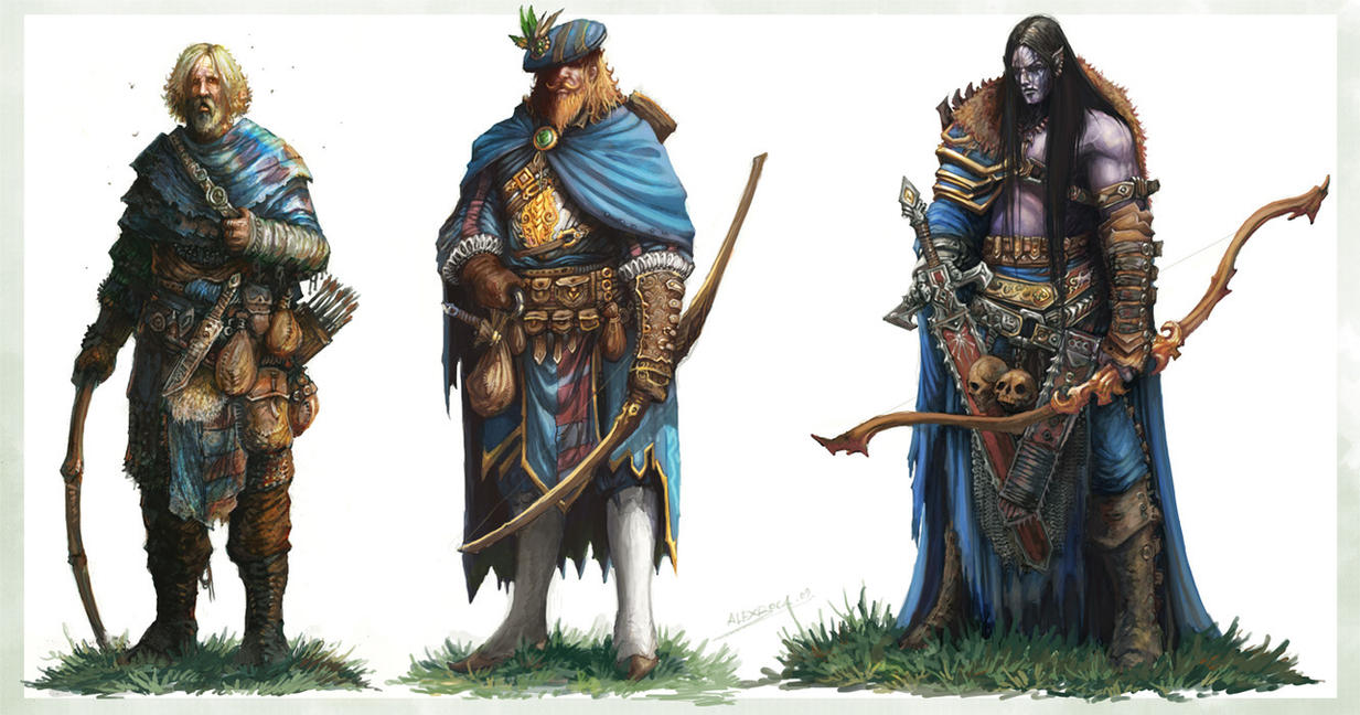 Archers by AlexBoca