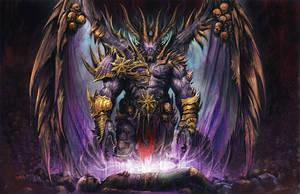 Warhammer 40k Demon by AlexBoca