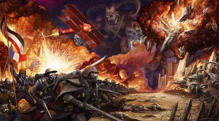 1917 Alien Invasion by AlexBoca