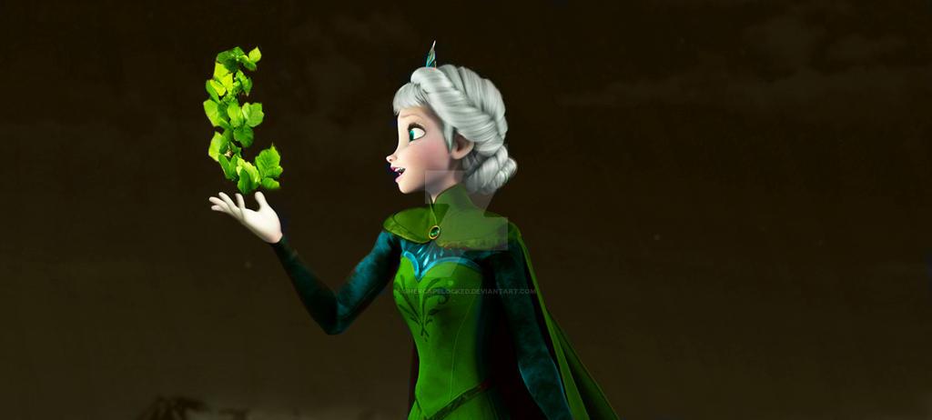 Elsa Earth by shercapslocked