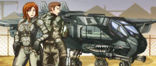 HALO-Firebird 2-1 by biduke