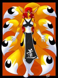 Kitsune Lanza by ChaloDillo