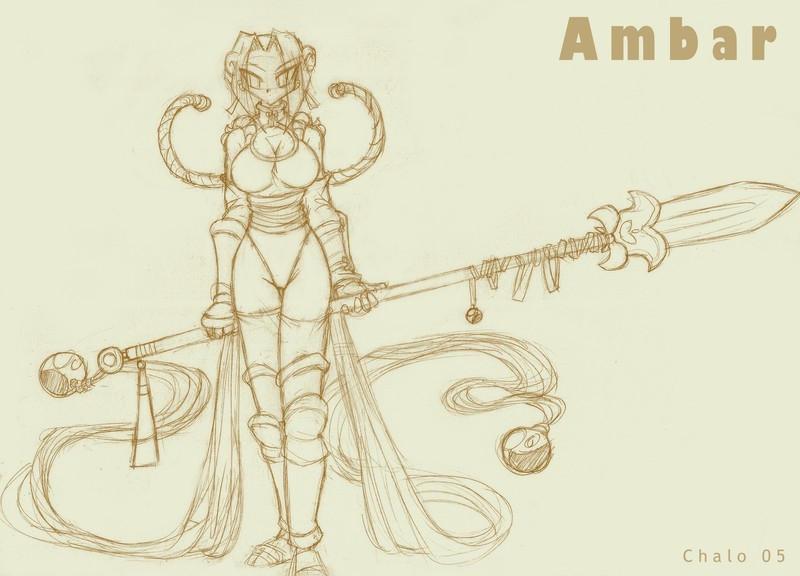 Petal Warrior Ambar by ChaloDillo