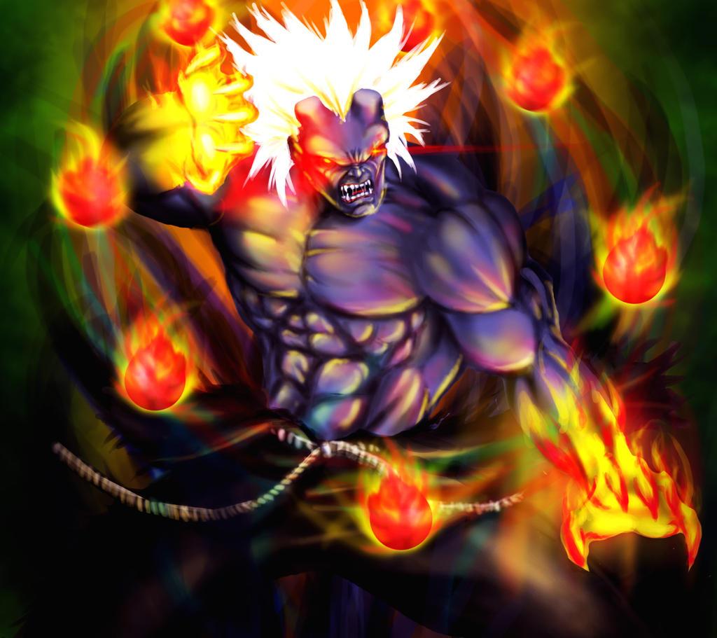 Oni akuma the mad demon by grapiqkad on deviantart - Akuma oni wallpaper ...