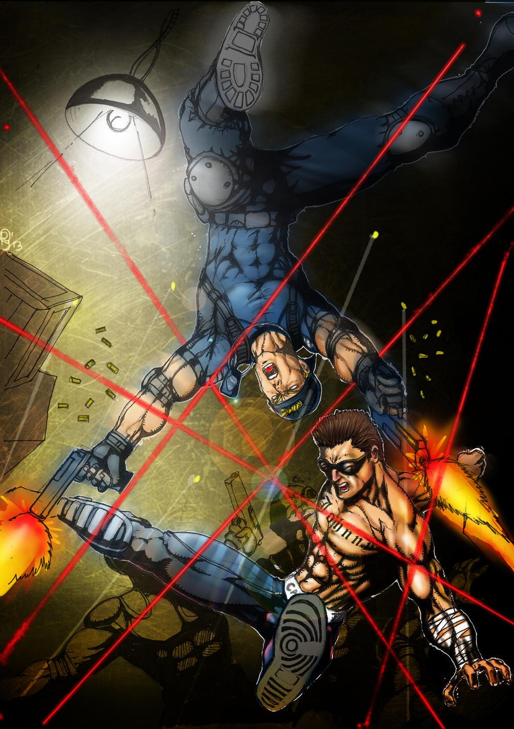 Stryker-Cage...Hardboiled by Grapiqkad