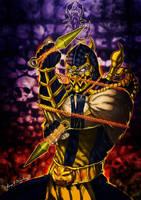 Scorpion..Mortal Kombat by Grapiqkad