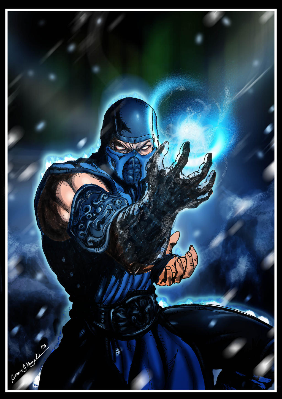 Mortal Kombat X Sub Zero Deviantart Sub-Zero -Mortal Komba...