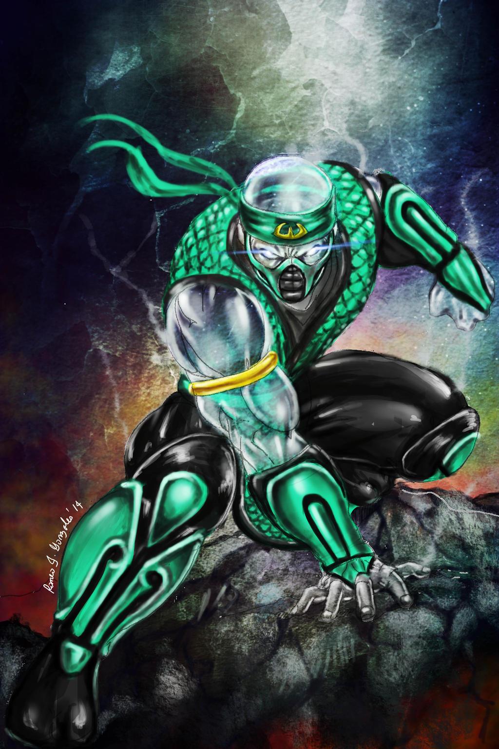 Mortal kombat chameleon wallpaper