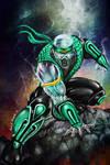 Chameleon-Mortal Kombat..Now you see me..