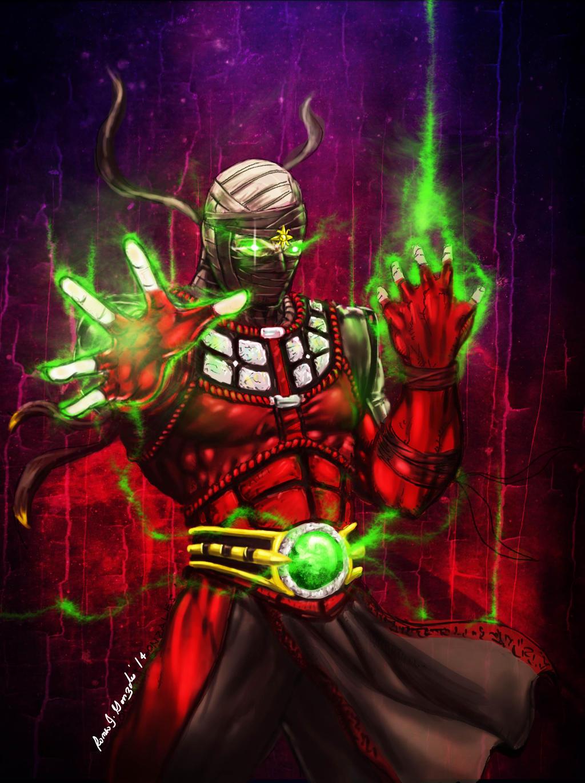 Ermac from the Mortal Kombat Series - Game Art, Cosplays