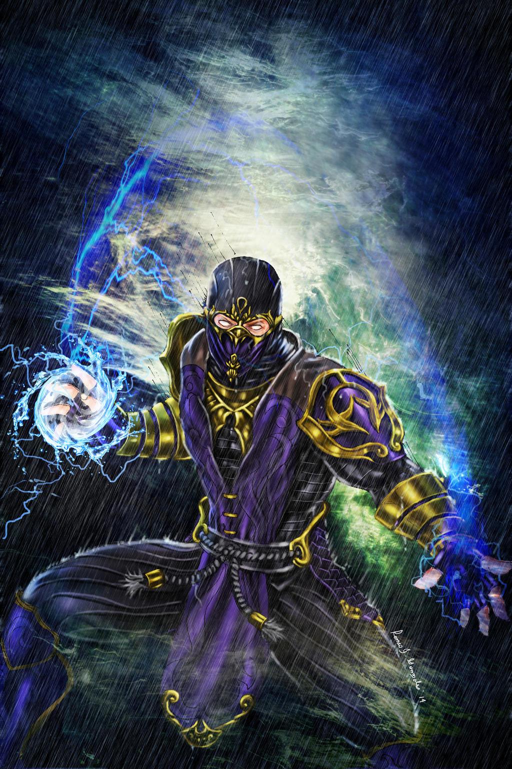 Kitana, Mortal Kombat Fan art 2 by Andre69bibriescas on