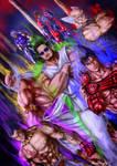 Harada and the Mishima Clan by Grapiqkad