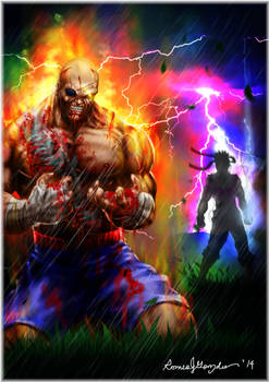 the fall of Sagat.
