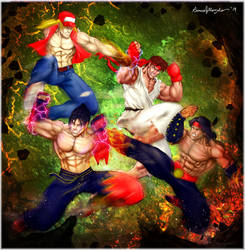 Jhin Vs Ryu Vs Liu Kang Vs Terry Bogard