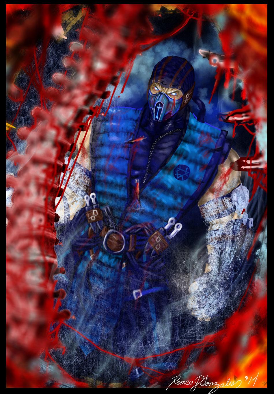 Mortal Kombat X Sub Zero Deviantart Sub Zero-Mortal Kombat...