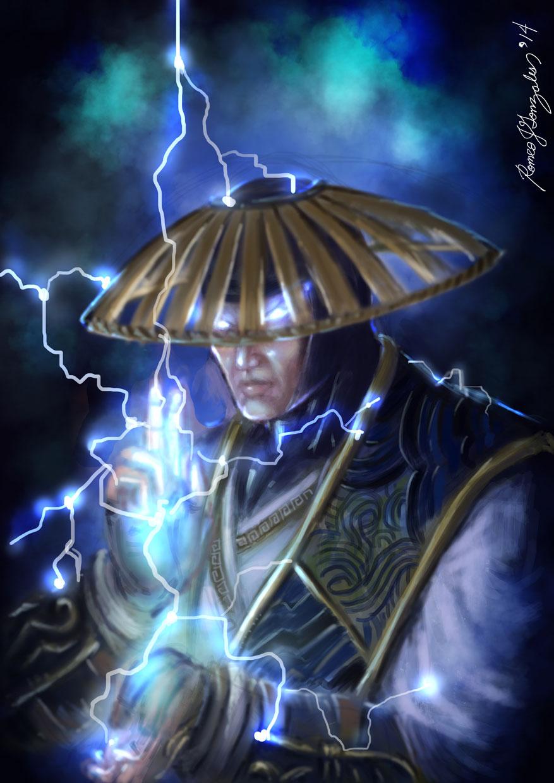 Raiden  Mortal Kombat X by GrapiqkadMortal Kombat 10 Raiden