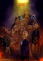 Mortal Kombat X Goro by Grapiqkad