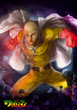 One punch man-Serious punch