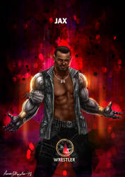 Mortal Kombat X Jax-Wrestler Variation by Grapiqkad