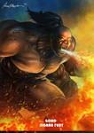 Mortal Kombat X-Goro- Tigrar Fury Variation