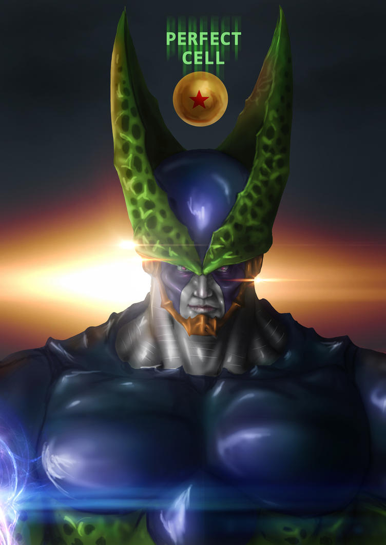 DRAGON BALL Z Cell Perfect form by Grapiqkad