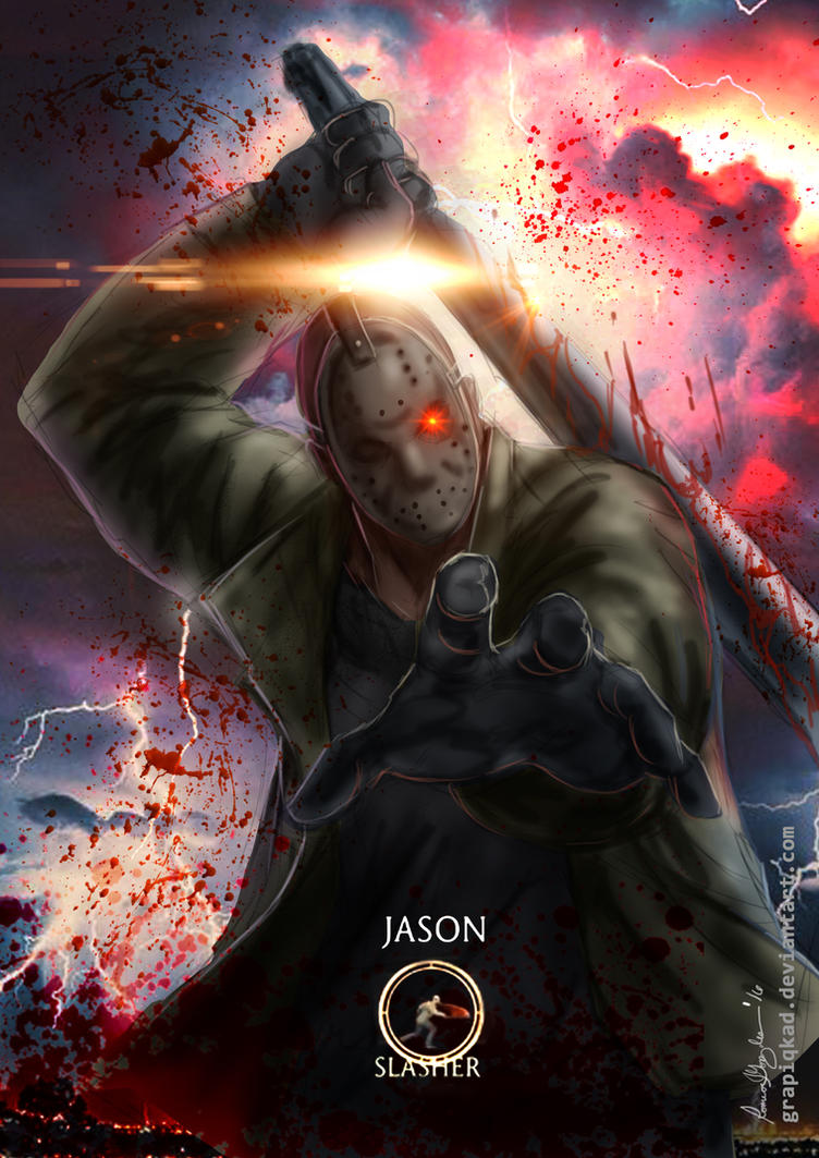 Mortal Kombat X-Jason Slasher Variation by Grapiqkad