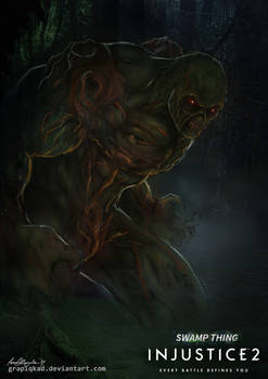 Injustice 2- Swamp Thing