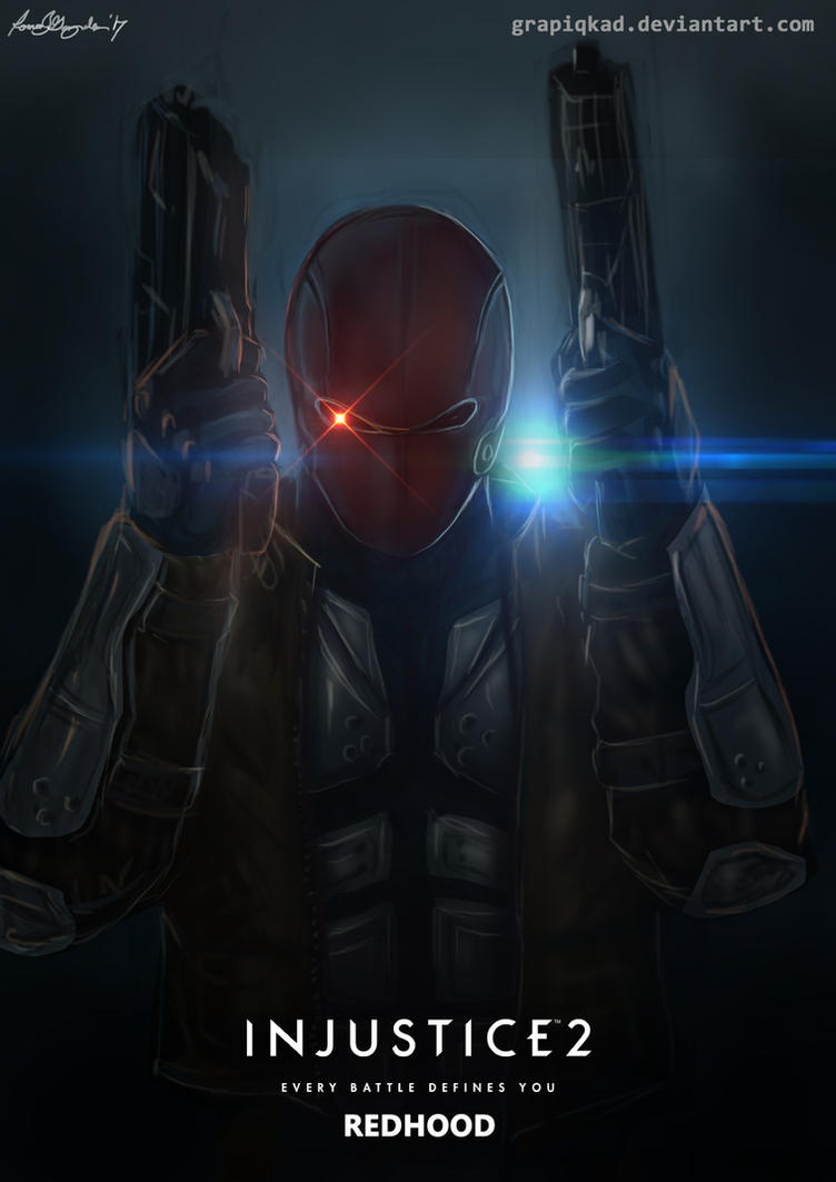 Injustice 2 - Red Hood by Grapiqkad