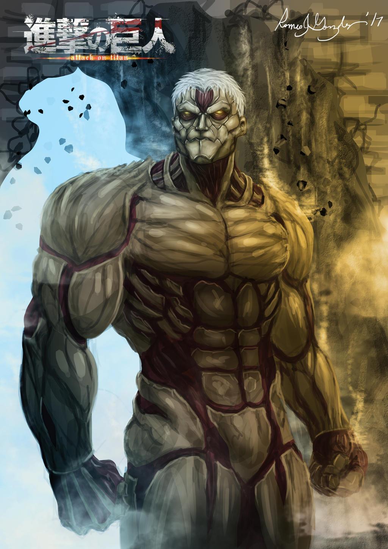 Shingeki no Kyojin=Armored Titan by Grapiqkad on DeviantArt