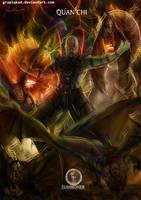 Mortal Kombat X-Quan Chi -Summoner Variation by Grapiqkad