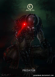Mortal Kombat X-Predator Hish-Qu-Ten Variation by Grapiqkad