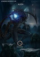 Mortal Kombat X- Alien Konjurer Variation by Grapiqkad