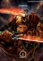 Mortal Kombat X- Scorpion Ninjutsu Variation by Grapiqkad