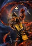 Mortal Kombat X- Scorpion Hellfire Variation