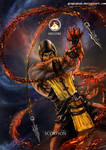 Mortal Kombat X- Scorpion Hellfire Variation