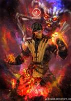 Mortal Kombat X- Scorpion Inferno  Variation by Grapiqkad