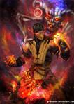 Mortal Kombat X- Scorpion Inferno  Variation