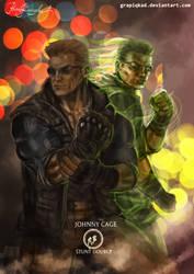 Mortal Kombat X Jonny stunt double Variations