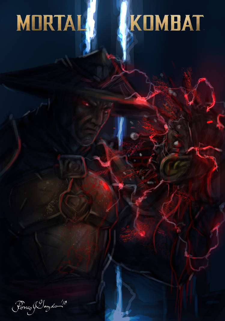 Dark Raiden-Mortal kombat 11 by Grapiqkad on DeviantArt