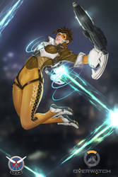 Tracer with Background