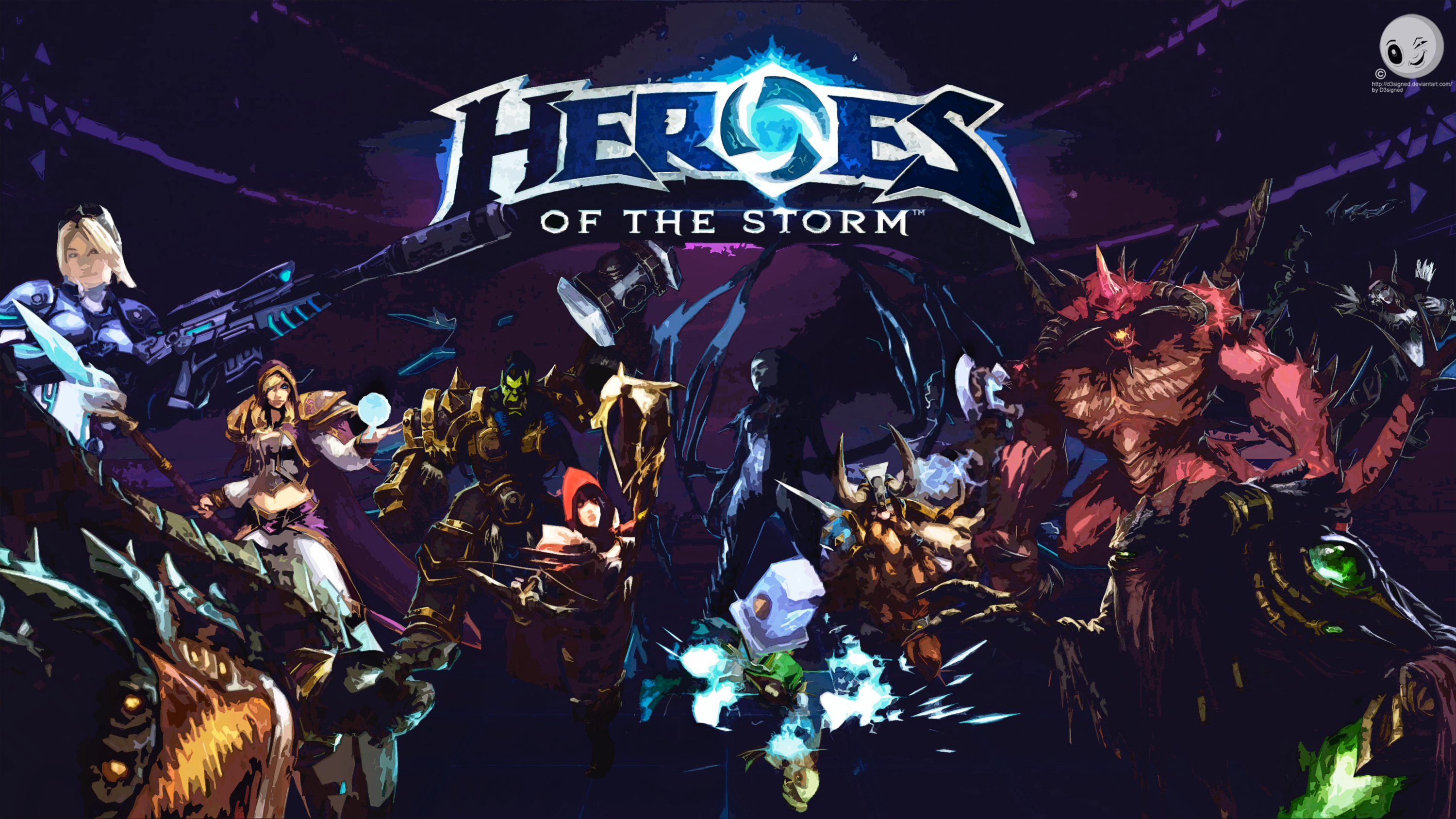 Heroes Of The Storm Wallpaper FanArt By D3signed