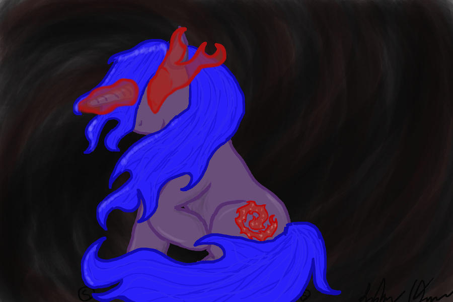 Violet Mage reboot by Laxmortaxbella