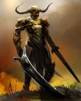 demon knight by Josic