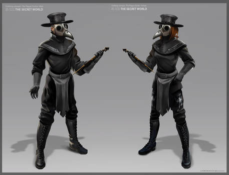 TSW clothing Plague Doctor-male - female X 1000 MA