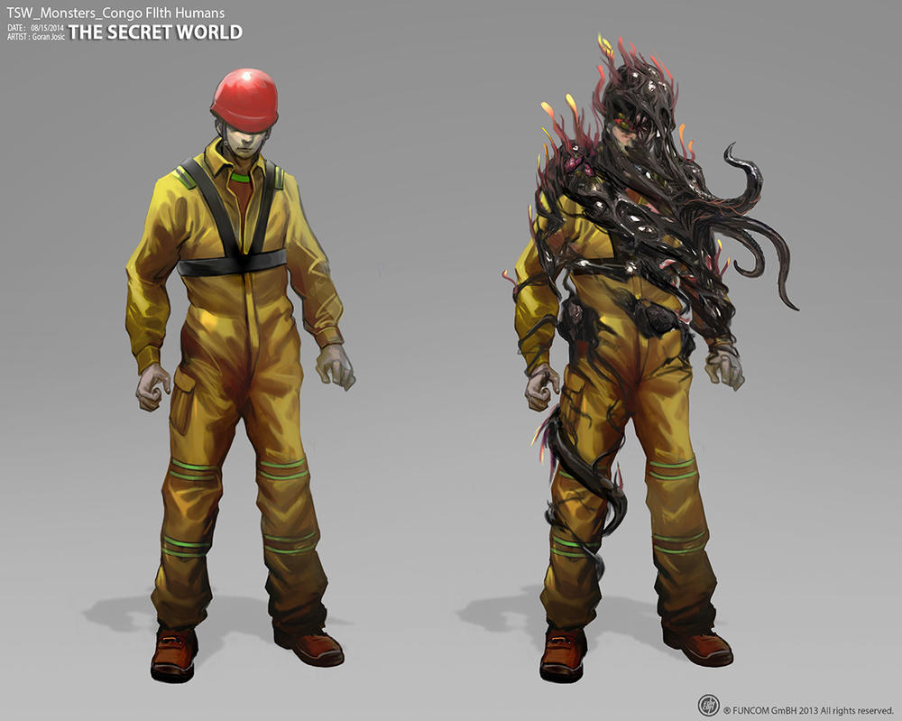 TSW Monsters congofilth humans small by Josic