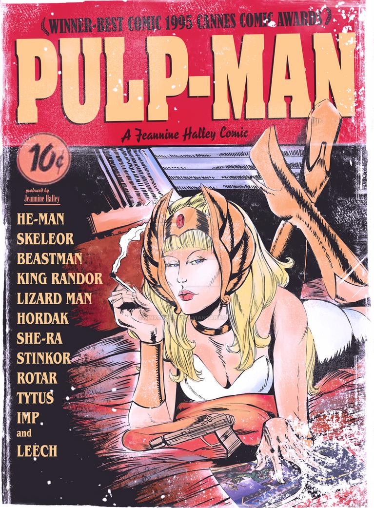 Pulp-Man Title-1 by JinxCrest101