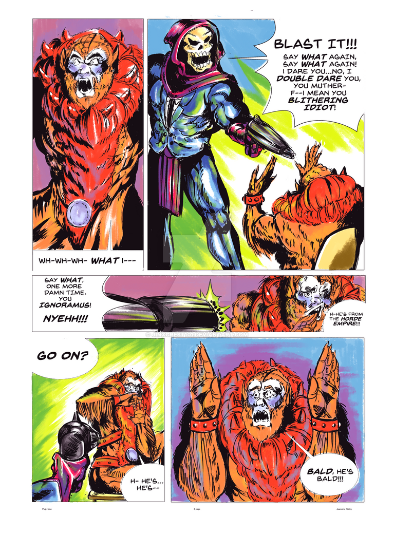 Pulp-Man page 3 by JinxCrest101
