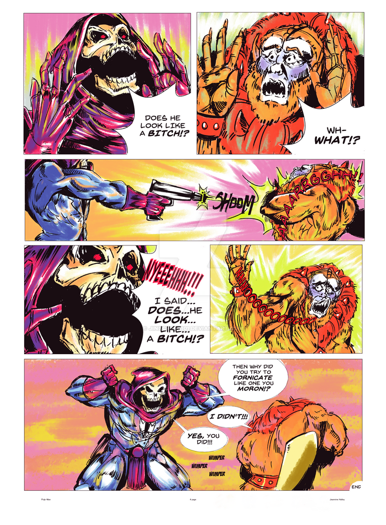 Pulp-Man page 4 by JinxCrest101