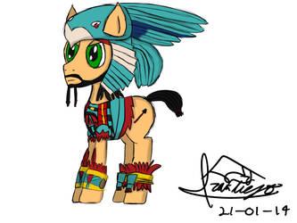 Aztec Pony by ivaneit0r